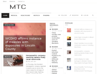 medtechcollective.com screenshot