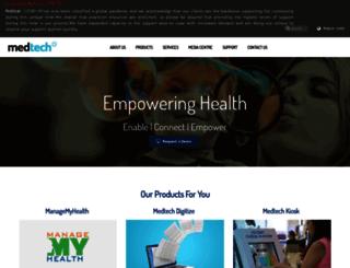 medtechindia.com screenshot