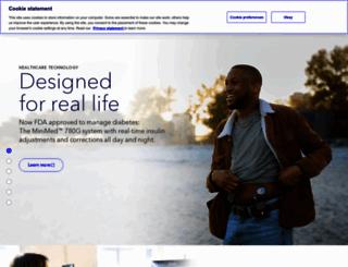 medtronic.com screenshot
