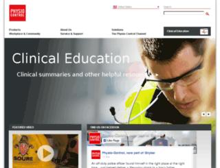 medtronicphysiocontrol.com screenshot