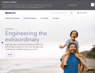 medtronicplc.com screenshot