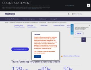 medtronicrdn.com screenshot