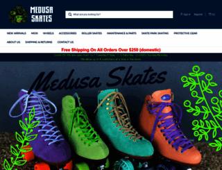 medusaskates.com screenshot
