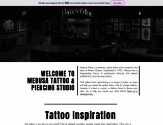 medusatattoo.com screenshot