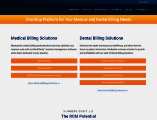 medusind.com screenshot