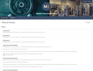 medxpf.frontdeskhq.com screenshot