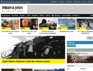 medyatron.com screenshot