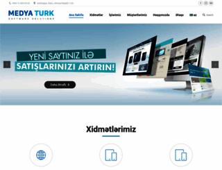 medyaturk.az screenshot