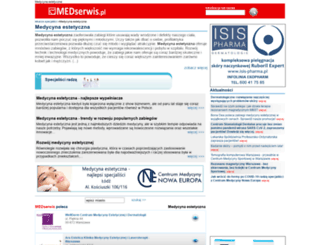medycynaestetyczna.medserwis.pl screenshot