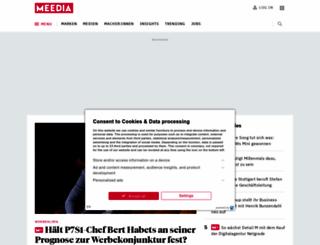 meedia.de screenshot