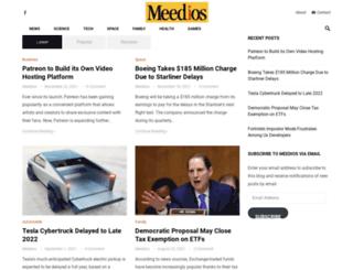 meedios.com screenshot