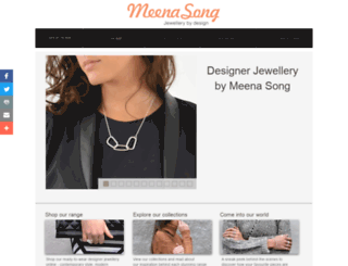 meenasong.com.au screenshot