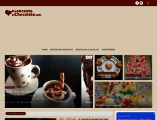 meencantaelchocolate.com screenshot