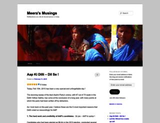 meerasanyal.wordpress.com screenshot