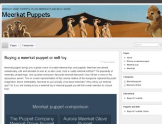 meerkatpuppets.co.uk screenshot