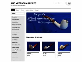 meerschaum.com screenshot