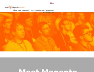 meet-magento.by screenshot