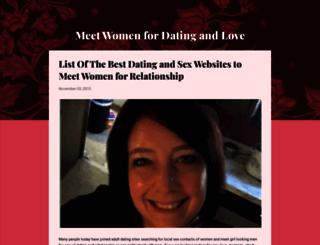 meet-women-for-dating-and-love.blogspot.in screenshot