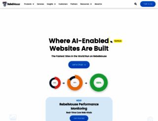 meet.rebelmouse.com screenshot