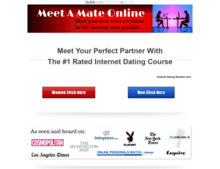 meetamateonline.com screenshot