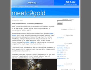 meetc9gold.mee.nu screenshot
