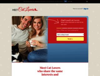 meetcatlovers.com screenshot