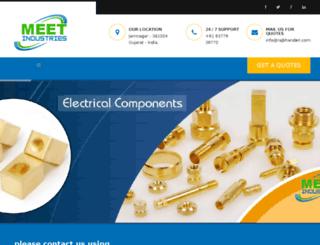 meetindustries.com screenshot