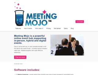 meeting-mojo.com screenshot