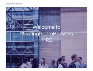 meetingroombrussels.com screenshot