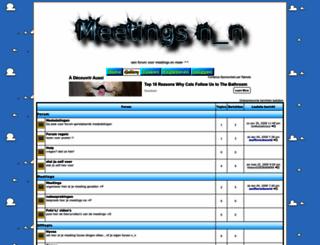 meetings.actieforum.com screenshot