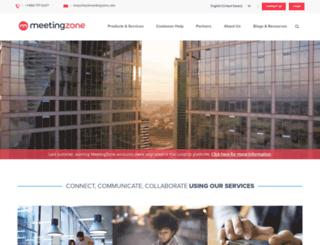 meetingzone.com screenshot