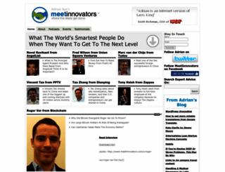 meetinnovators.com screenshot