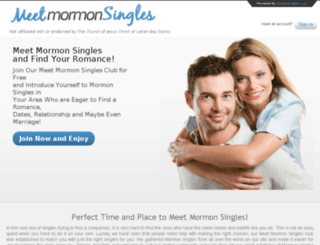 meetmormonsingles.com screenshot