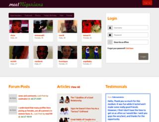 meetnigerians.net screenshot