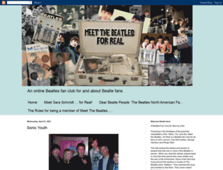 meetthebeatlesforreal.blogspot.co.uk screenshot