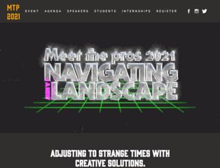 meetthepros.org screenshot