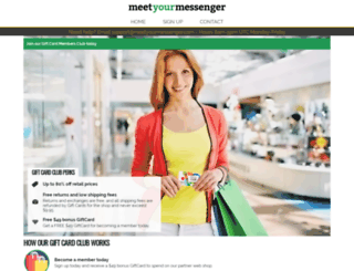 meetyourmessenger.com screenshot