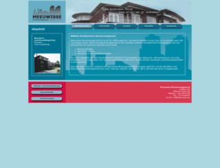 meeuwisse.com screenshot