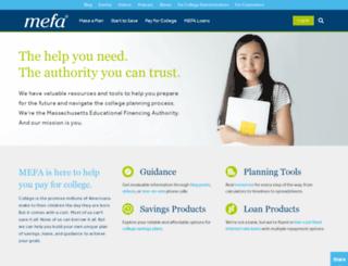 mefa.com screenshot