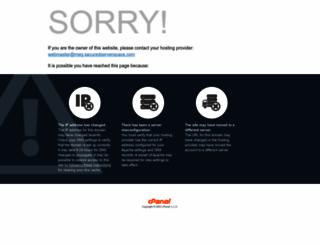 meg.securedserverspace.com screenshot