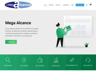 mega-alcance.com screenshot