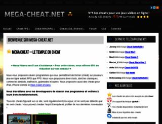 mega-cheat.net screenshot