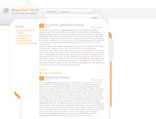 mega-kauf-world.de screenshot