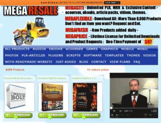 mega-resale.com screenshot