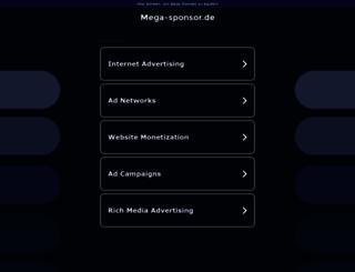 mega-sponsor.de screenshot