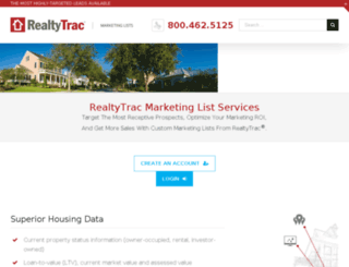 mega2.realtytrac.com screenshot