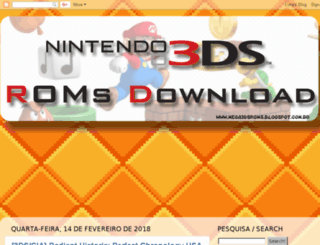 mega3dsroms.blogspot.sg screenshot