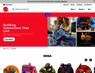 megabloks.com screenshot