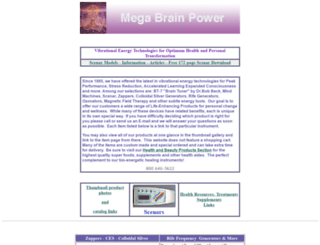 megabrainpower.com screenshot