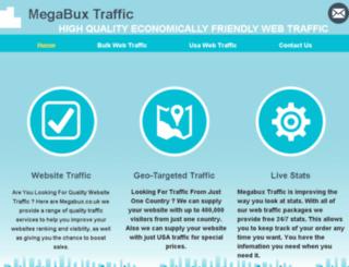 megabux.co.uk screenshot